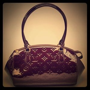 Authentic Louis Vuitton Monogram Handbag Vernis